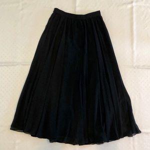 Adrianna Papell Chiffon Long Skirt